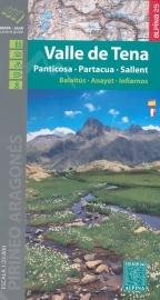 Wandelkaart Valle de Tena | Editorial Alpina | Gebied rond Seneque | 1:40.000 | ISBN 9788480906357