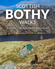 Wandelgids Scottish Bothy Walks : Scotland's 28 best bothy adventures | Wild Things | ISBN 9781910636190