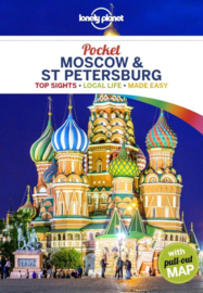 Reisgids Pocket Moscow - St. Petersburg - Moskou | Lonely Planet (9781787011236)