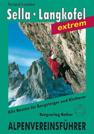 Klimgids-Wandelgids Sella en Langkofelgruppe | Rother Verlag | Extrem | ISBN 9783763313150