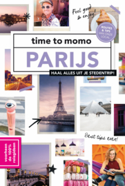 Stadsgids Parijs 100%  Mo'Media - time to momo   ISBN 9789493195226