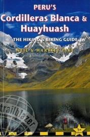 Trekking- Fietsgids Cordilleras Blanca & Huayhuash - Peru | Trailblazer | ISBN 9781905864638