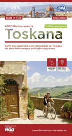 Fietskaart Toscane | ADFC | 1:150.000 | ISBN 9783870739393