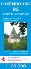 Wandelkaart Larochette / Lorentzweiler Topografische dienst Luxembourg 05 | ISBN 5425013060912