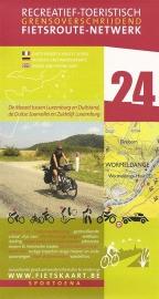 Sportoena fietskaart 24  Moezel - Zuid Luxemburg  | Fietsroute-Netwerk | ISBN 9789078976141