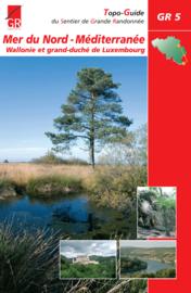 Wandelgids GR 5 Noordzee - Middellandse Zee - Deel Ardennen :Maastricht - Diekirch  | ISBN 9782930488080
