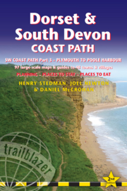 Wandelgids Dorset & South Devon Coast path : Plymouth to Poole | Trailblazer | ISBN 9781905864942
