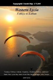 Wandelkaart Lycia Westelijk deel - Fethiye to Kalkan | 1:75.000 | West Col | ISBN 9781906449223