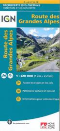 Fietskaart Route des Grande Alps met GR5 | IGN | 1:220.000 | ISBN 9782758540939