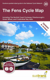 Fietskaart The Fens | Sustrans Cycle Map 20 | ISBN 9781900623346