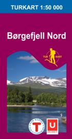 Wandelkaart Børgefjell Nord 2621 | Nordeca | 1:50.000 | ISBN 7046660026212