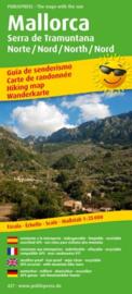 Wandelkaart Mallorca, Serra de Tramuntana Noord | Public Press | ISBN 9783747304273
