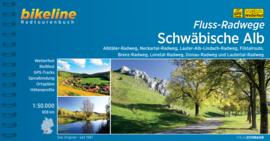 Fietsgids Fluss-Radwege Schwäbische Alb - 808 km | Bikeline | | ISBN 9783850008297