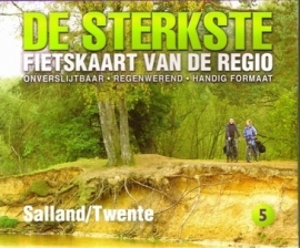 Fietskaart Sterkste kaart van de regio : Salland - Twente | Buijten & Schipperheijn | ISBN 9789058817112