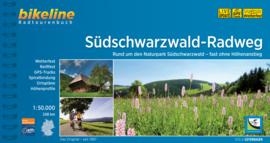 Fietsgids Südschwarzwald-Radweg - 240 km | Bikeline | Fietsen in `t Zwarte Woud | ISBN 9783850004381