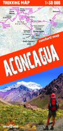 Wandelkaart Aconcagua | TerraQuest | 1:50.000 | ISBN 9788361155379