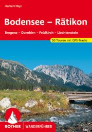 Wandelgids Bodensee tot Rätikon  Rother Verlag   ISBN 9783763341979