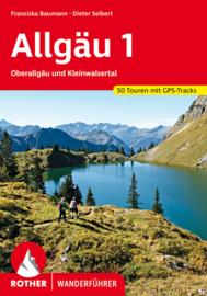 Wandelgids Allgäu 1 / Oberallgäu und Kleinwalsertal | Rother Verlag | ISBN 9783763345724