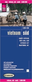 Wegenkaart Vietnam Zuid | Reise Know How | 1:500.000 | ISBN 9783831773251
