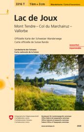 Wandelkaart   Lac de Joux   Bundesamt 3316T    ISBN 9783302333168