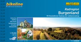 Fietsgids Burgenland Radatlas | Bikeline | ISBN 9783850007979