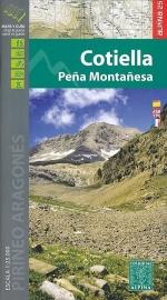 Wandelkaart Cotiella - Pena Montanesa | Editorial Alpina | Centrale Pyreneeën | 1:25.000 | ISBN 9788480906098
