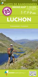 Wandelkaart Luchon, Bagnères-de-Luchon (Frankrijk - Pyreneeen) | Rando Edition 05 | 9782344013366