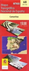 Wandelkaart - Topografische kaart Camariñas | 1:50.000 | CNIG 68 | ISBN 9788441601161