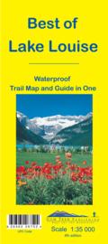 Wandelkaart Best of Lake Louise | Gem Trek nr. 13 | 1:35.000 |  ISBN 9781895526752
