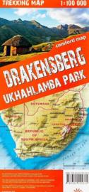 Wandelkaart Drakensbergen - Zuid Afrika | TerraQuest | 1:100.000 | ISBN 9788361155331