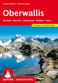 Wandelgids Rother Oberwallis | Rother Verlag | Zermatt - Saas Fee - Lötschental - Simplon - Goms | ISBN 9783763341276