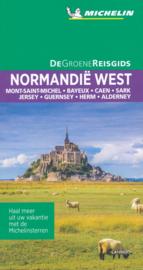 Reisgids Normandië West | Michelin groene gids | ISBN 9789401465250