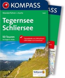 Wandelgids Tegernsee en Schliersee | Kompass | ISBN 9783990441442