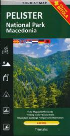 Wandelkaart Pelister - National Park Macedonie | Trimaks | 1:50.000 | ISBN 9786082041247