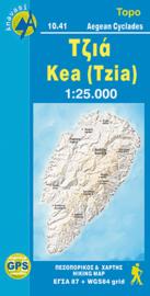 Wandelkaart Kea-(Tzia) | Anavasi 10.41 | 1:28.000 | ISBN 9789608195820