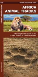 Natuurgids African Animal Tracks | Waterford | ISBN 9781583550373