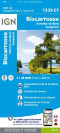 Wandelkaart Biscarosse / Lacs de Cazeau et de Sanguinet, de Biscarosse et de Parentis  | Franse Atlantische Kust | IGN 1339ET - IGN 1339 ET  | ISBN 9782758542629