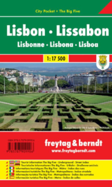 Stadsplattegrond Lissabon | Borch |  1:17.500 | ISBN 9783707909906