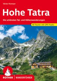 Wandelgids Hohe Tatra | Rother Verlag | ISBN 9783763345038