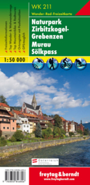 Wandelkaart Naturpark Zirbitzkogel-Grebenzen - Murau - Sölkpass | Freytag & Berndt 211 | 1:50.000 | ISBN 9783850846806