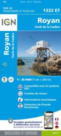 Wandelkaart Royan & Foret de la Coubre | Franse Atlantische Kust | IGN 1332ET - IGN 1332 ET | ISBN 9782758545224