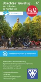 Fietskaart Utrechts tee Heuvelrug met de Vechtse Plassen  nr.12 | 1:50.000 | Falk | ISBN 9789028701076