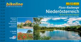 Fietsgids Fluss-Radwege Niederösterreich 1075 km. | Bikeline | ISBN 9783850008884