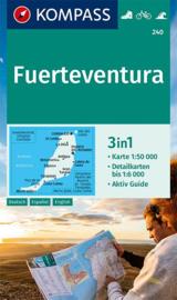 Wandelkaart Fuerteventura | Kompass 240 | 1:50.000 | ISBN 9783990448731