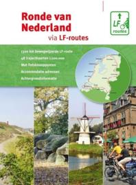 Fietsgids Ronde van Nederland via LF routes |  Buijten & Schipperheijn | ISBN 9789072930712