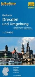 Fietskaart Dresden | Bikeline | 1:75.000 | ISBN 9783850005982