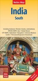 Wegenkaart India Zuid | Nelles |  1:1,5 miljoen | ISBN 9783865745026