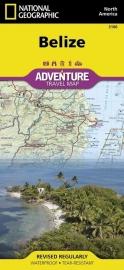 Wegenkaart Belize   National Geographic 3106   1:400.000   ISBN 9781566954686