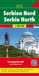 Wegenkaart - Fietskaart Servie Noord - Serbia North | Freytag & Berndt | 1:200.000 | ISBN 9783707912777