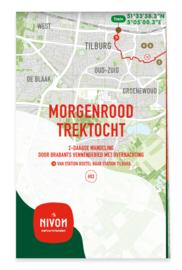 Wandelgids 03 Wandeltweedaagsen Morgenrood Trektocht | Nivon | 1:25.000 | ISBN 9789491142192